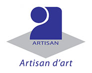 Logo label qualification artisan d'art